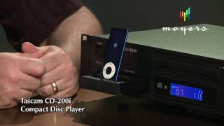 Moyers Group | Tascam CD-200i CD/iPod Player