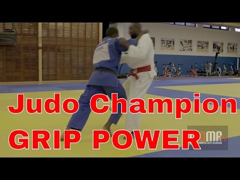 Judo Champion Training GRIP POWER Darcel Yandzi