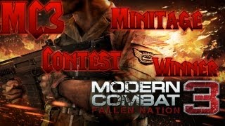 Modern Combat 3: Fallen Nation - Minitage Contest Winner