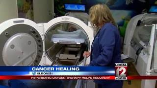 Hyperbaric oxygen therapy helps treat cancer side effects