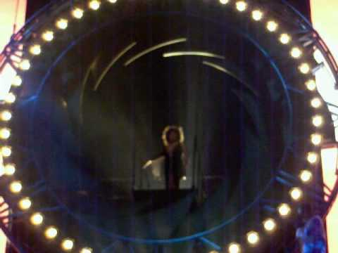 "TINA TURNER - Clip of opening of ""GOLDENEYE"" - Live in Stockholm, 20 April 2009"