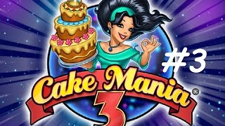 Cake Mania 3 - Fairy Cakes, Day 1 - 7 (#3) (Let's Play / Gameplay)