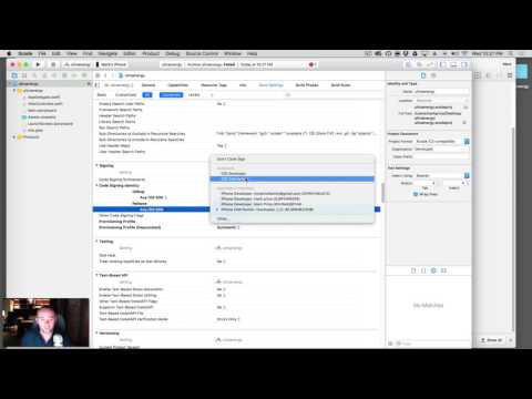 107. Installing Production Certificates & Profiles