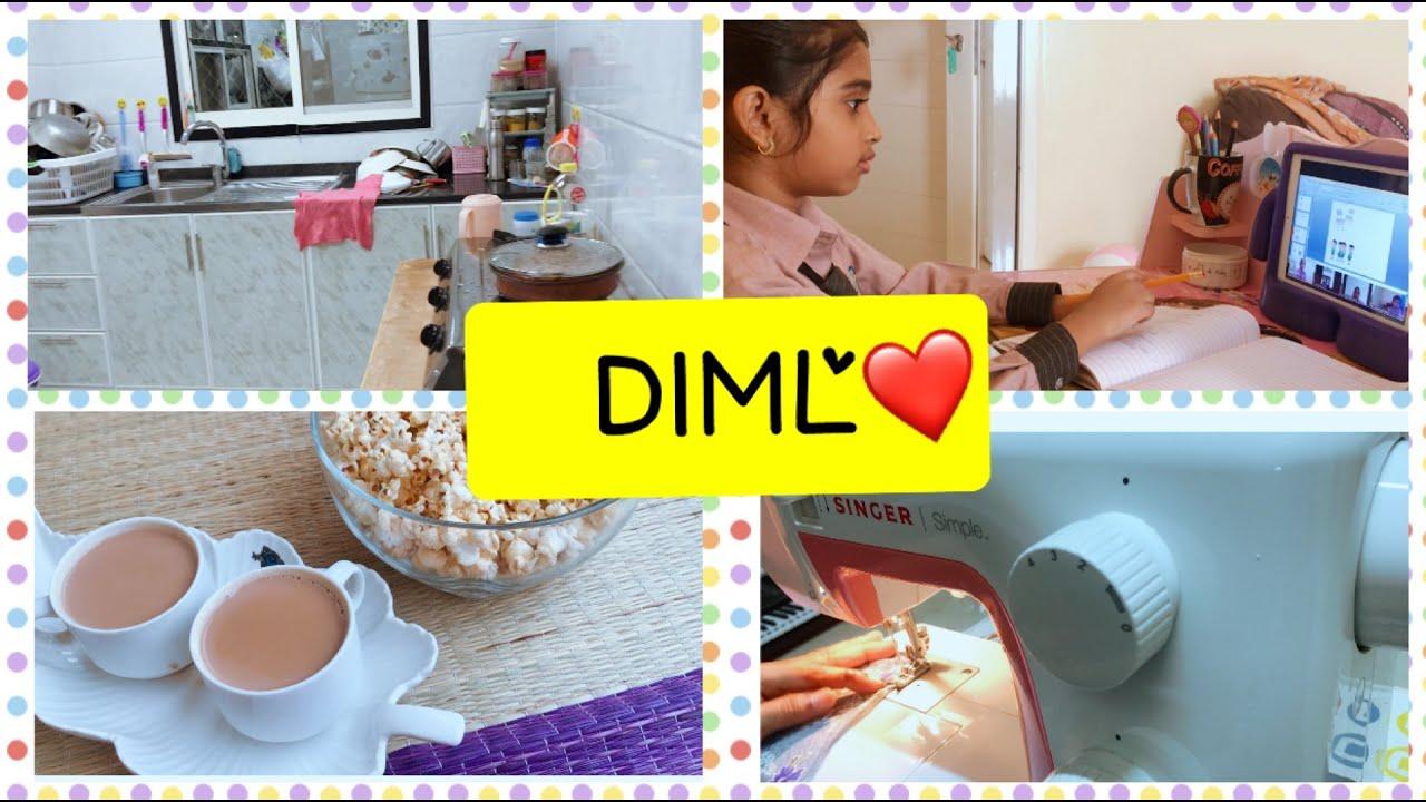 DIML vlog.. in lockdown/ routine work..in தமிழ்/ தினசரி வேலைகள்