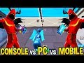 Download PC vs CONSOLE vs MOBILE! *FASTEST* EDITING and BUILDING SPEEDS! - Fortnite