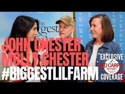 John & Molly Chester Interviewed At Biggest Little Farm Los Angeles Premiere #BiggestLilFarm