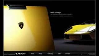 ASUS Lamborghini VX2 Website