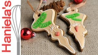 How To Decorate Gingerbread Tree Ornaments, 12 Days Of Christmas