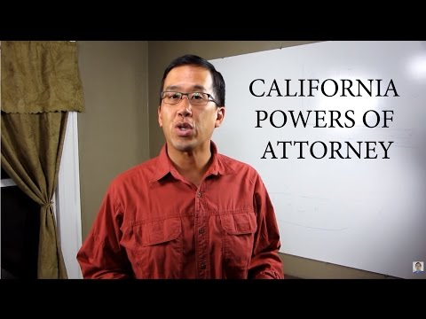 Basics of California Powers of Attorney - The Law Offices of Andy I. Chen