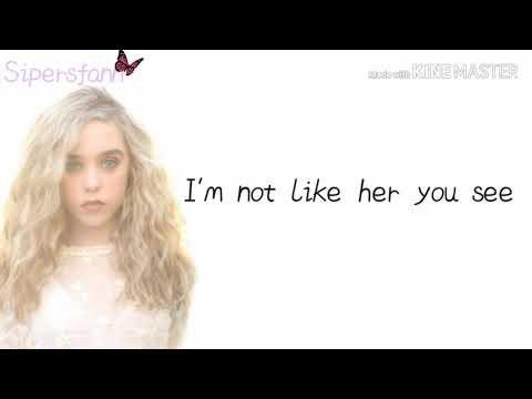 Jenna Davis- Under The Surface Lyric Video || * Relatable 💔* || Sipersfann
