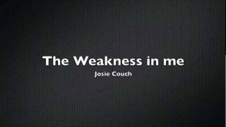 Keisha White The Weakness in me cover by Josie Couch