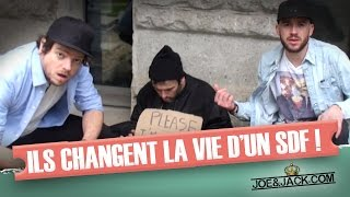 Joe & Jack / They change a homeless person's life (parody)