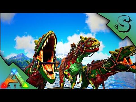 IMPRINTED ALLOSAURUS PACK! | BREEDING & INTERACTIVE RAISING! | Ark: Survival Evolved [S2E55]
