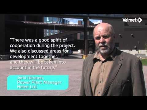 Valmet's automation modernization at Helen Ltd, CHP power plant in Finland
