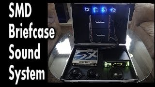 Briefcase Sound System - Pioneer, Rockford Fosgate, XS Power, SMD