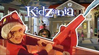 Mira ve Ege KidZania Gezisi Vlog UmiKids