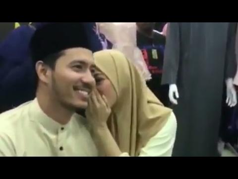 (Sweet)Fazura Bisik 'Love' Dan Bermanja Dengan Fatah Amin Di Prima Valet