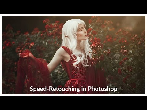 Speed Retouching Of A Fantasy Elf Photo In Photoshop