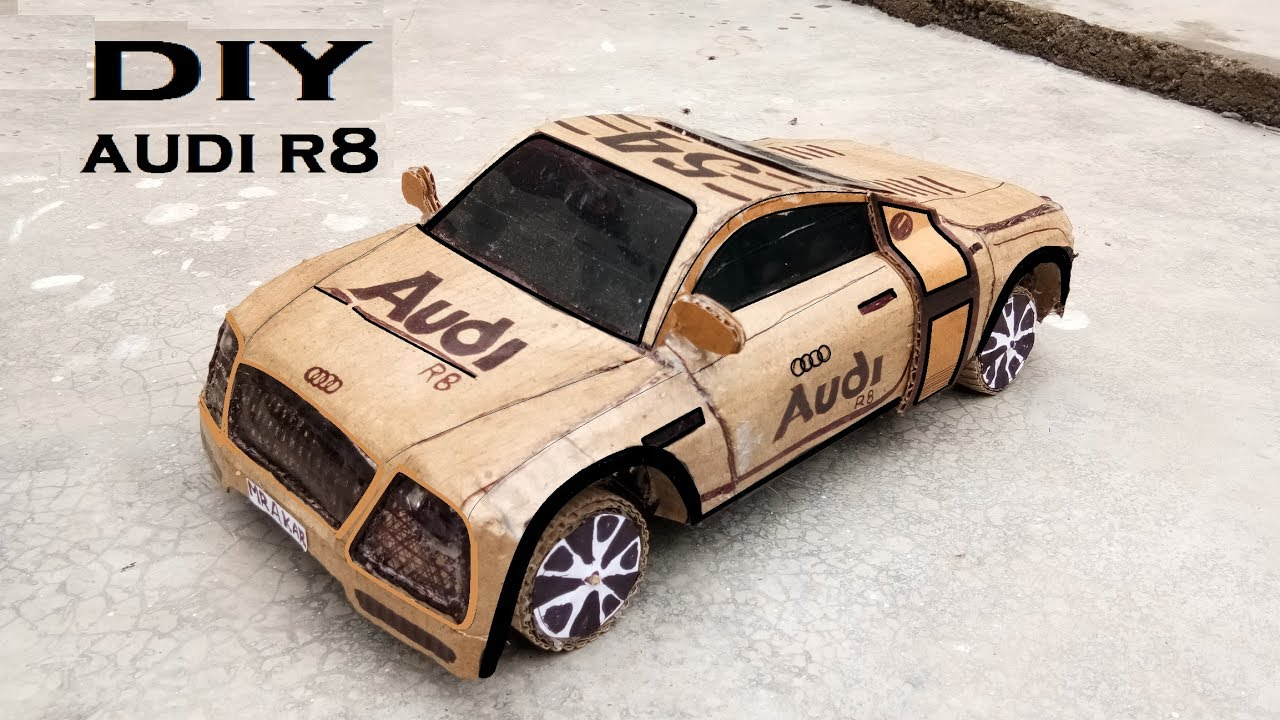 How To Make A Car Homemade Car Homemade Toy Powered