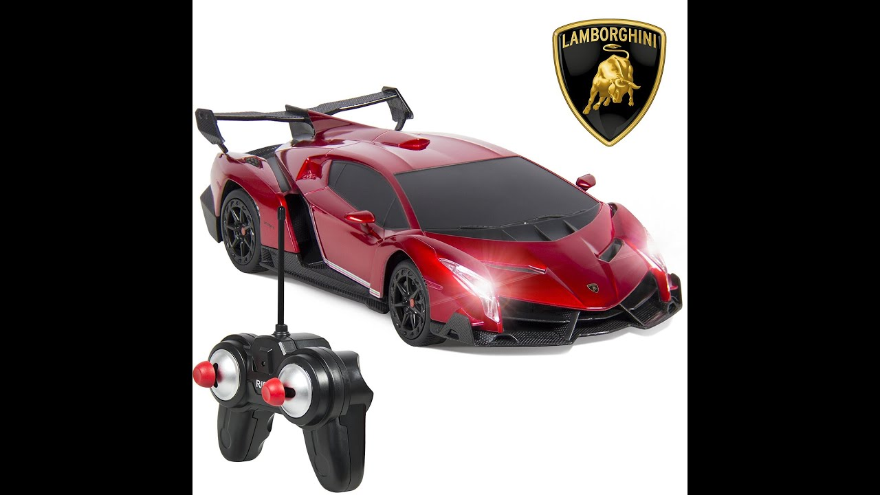 Lamborghini Veneno Sport Racing Car Unboxing Demo Youtube