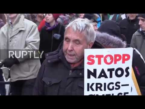 Norway: NATO drills draw protests in Oslo