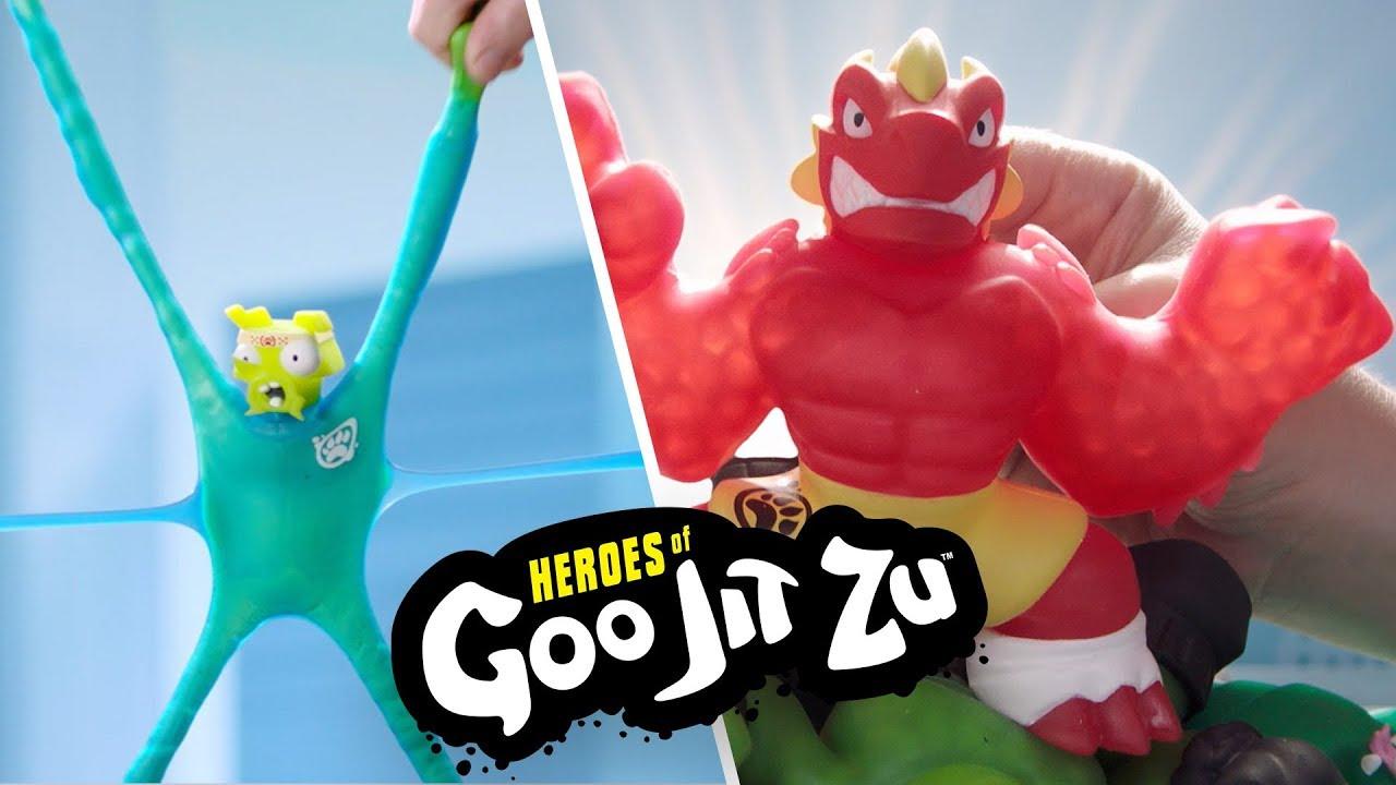 Heroes of Goo jit zu-Thrash ~ Figurine Super Extensible