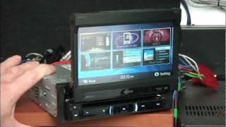 Clarion NZ501E in-car multimedia station