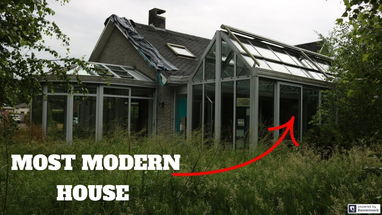 The MOST MODERN ABANDONED HOUSE We Ever Explored !