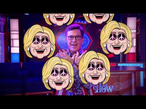 Late Show Political Week In Review (DNC Edition)