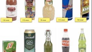 Думайте, что пьёте! Жидкие калории полнят!