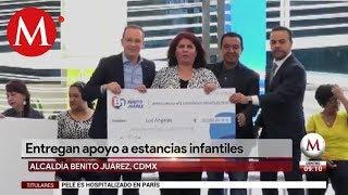 Rescate de Estancias Infantiles es una realidad en Benito Juárez