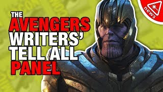 Avengers Writers Reveal the Hidden Endgame & Infinity War Secrets! (Nerdist News w/ Amy Vorpahl)