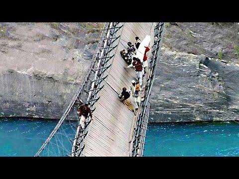 لاتذهب الى هذه الاماكن أبداً , 6 جسور الاكثر رعبا وخطورة في العالم  - نشر قبل 1 ساعة