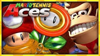 DK & LUIGI CHAMPIONS DES COUPES ! - MARIO TENNIS ACES #12