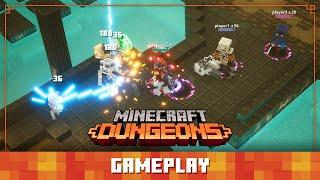 Minecraft Dungeons Diaries: Gameplay
