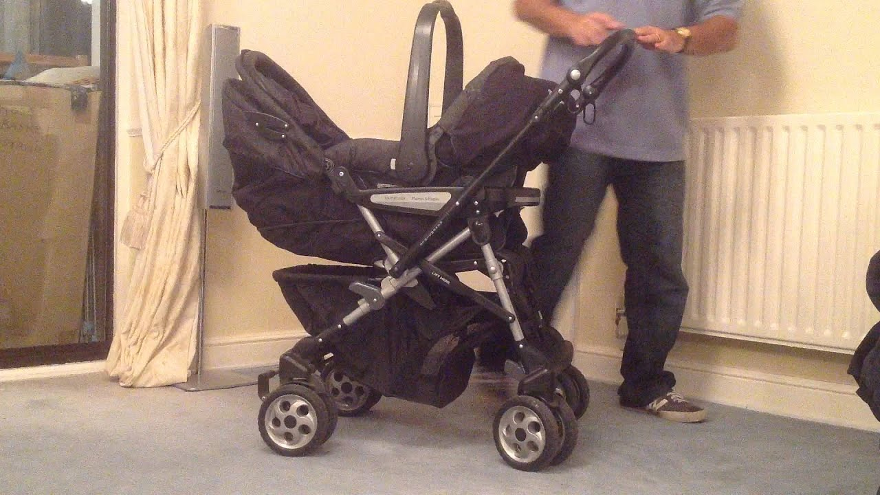 Pushchair Pram With Car Seat Demo Of Our Mamas And Papas Venezia Travel System Youtube