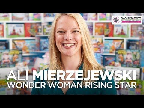 Ali Mierzejewski: Wonder Woman Rising Star Nominee!