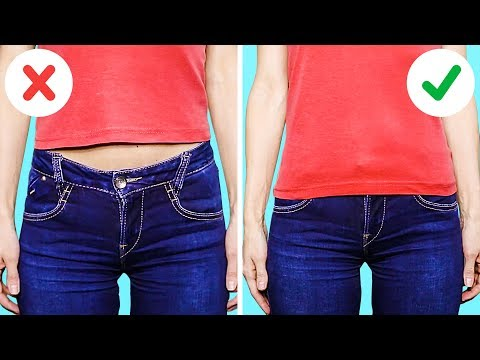 20 GREAT HACKS FOR YOUR OLD CLOTHES