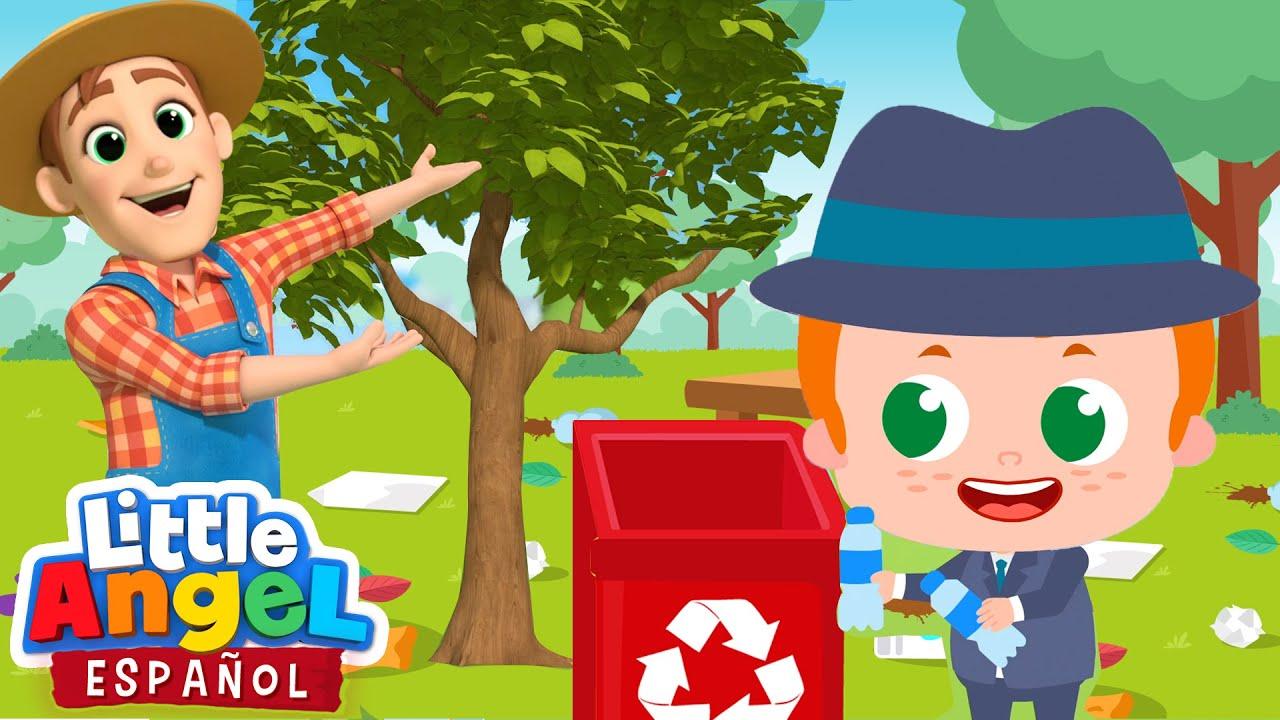 Ayudemos A Salvar la Tierra 🌎 | Canciones Infantiles de Bebé Juan | Little Angel Español