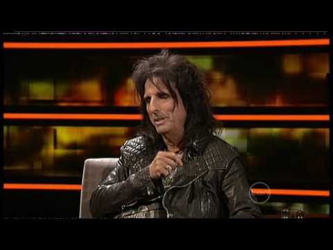 Alice Cooper interview on ROVE (Australia)