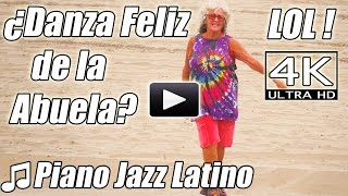 Abuela de Piano Jazz Danza Feliz Divertida Latina Caliente? Salsa Instrumental beats canciones video