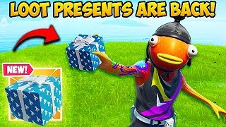 *NEW* PRESENTS ARE BACK IN FORTNITE!! – Fortnite Funny Fails and WTF Moments! #629