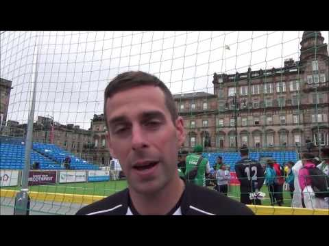 Football Referee Duncan Williams on the Homeless World Cup and Fairtrade Balls