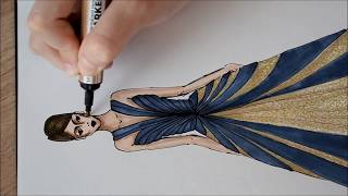 Fashion Illustration -Speed Drawing