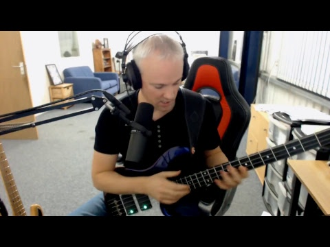 Talkingbass Live - Learning a Classical Piece on Bass!