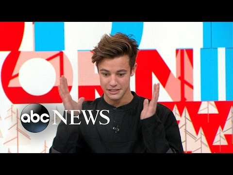 Thumbnail: Cameron Dallas Interview Live on 'GMA'