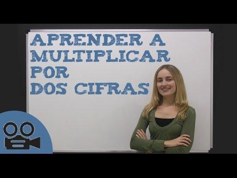 Aprender A Multiplicar Por Dos Cifras