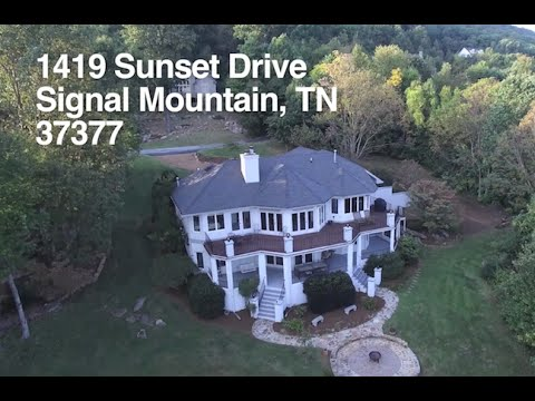 1419 SUNSET DR. Signal Mountain, TN, 37377. Video Tour  Home For Sale
