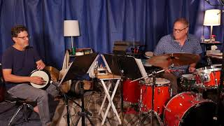 Hidden Malfouf - duo for Dumbek and Drum Set by Yousif Sheronick.