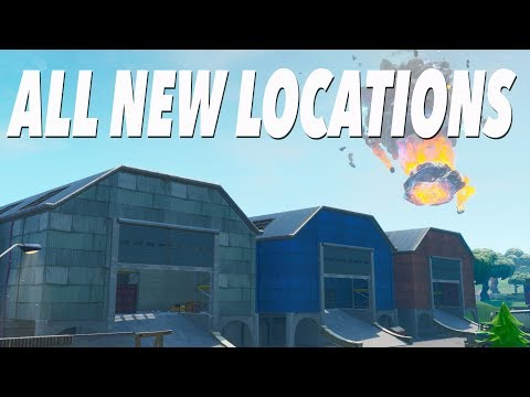 All New Map Changes in SEASON 10! (FORTNITE)